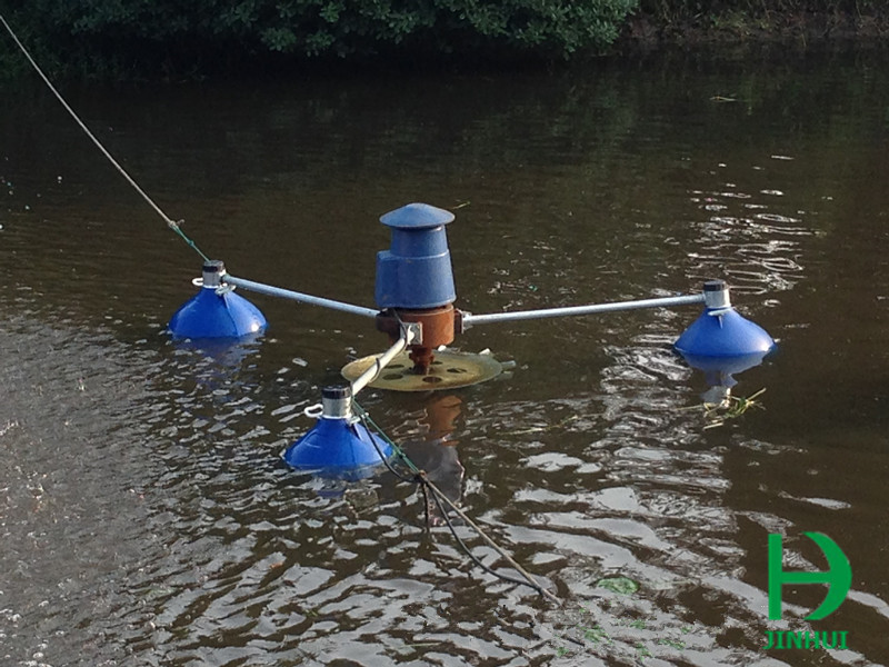 Shrimp farming aerator paddlewheel aerator aerator for ponds for Surface fish ponds