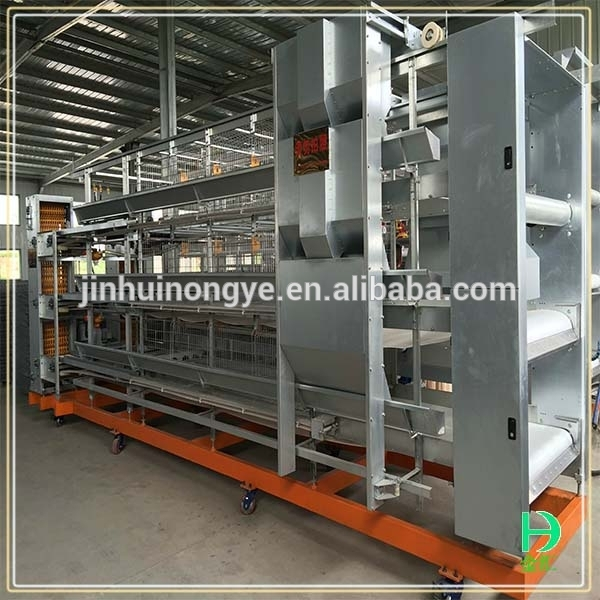 high quality poultry farm equipment hot dipped galvanized broiler house egg chicken laying egg cages