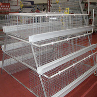 Battery cage poultry