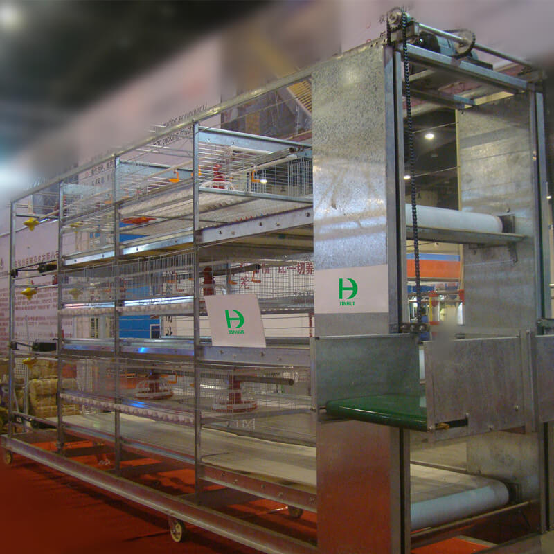 broiler cage design