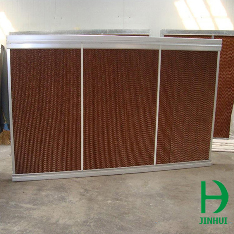 wet curtain for poultry farm