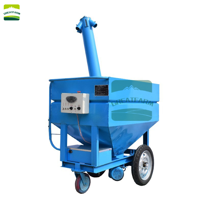 Automatic feeding device for broiler cage Automatic feeding car for sale