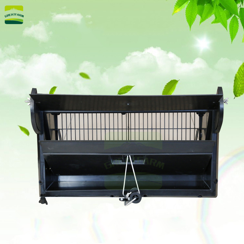 Breeding farm ventilation window Chicken house exhaust side window Manual air intake window