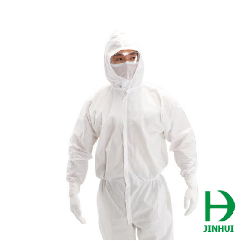 Protective Clothing with Cap