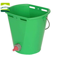 cattle feeding bucket