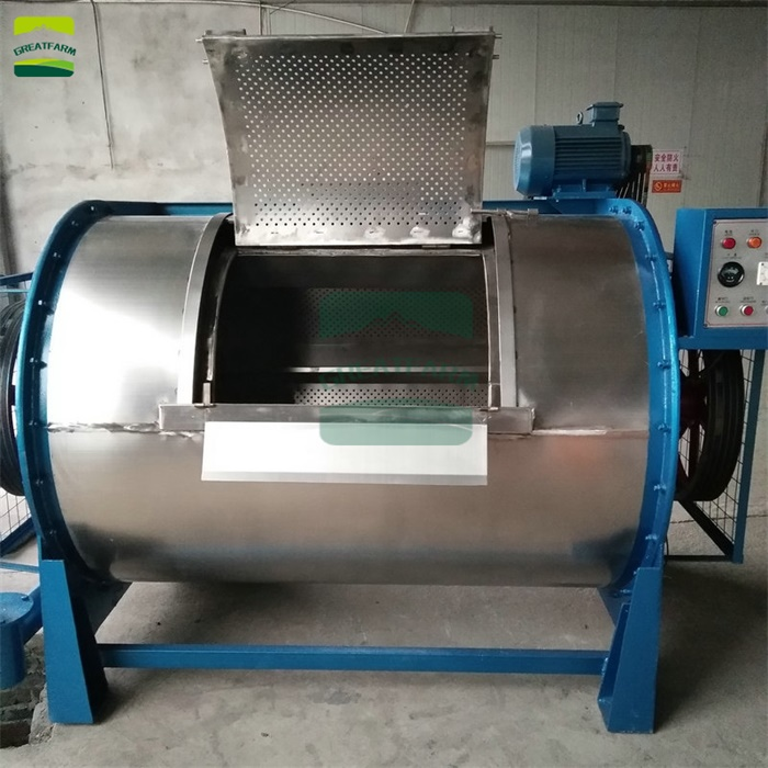 Industrial wool washer